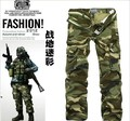 Free Shipping 2 Colors 9 Sizes men's military  pants multi-pocket  camouflage pants men cargo army pants