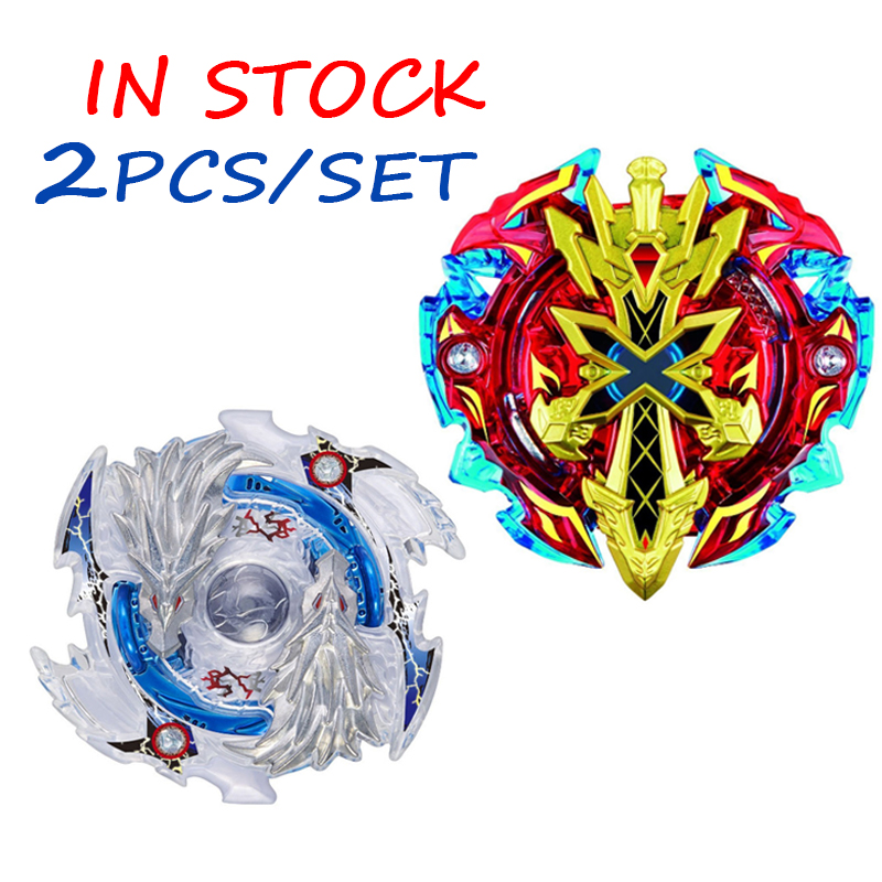 2pcs set spinning top beyblade burst b 48 b 66 metal 4d fighting gyro battle fury toys christmas. Black Bedroom Furniture Sets. Home Design Ideas
