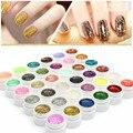 36 Colors Sequins Glitter LED UV Lamp Nail Gel Long Lasting Lacquer DIY Nail Art Colorful Nail Gel UV Gel UV LED Lamp Curing