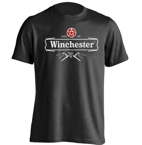 Winchester Bier Label Supernatural Sam Dean Mens & Womens Personalisierte T-shirt