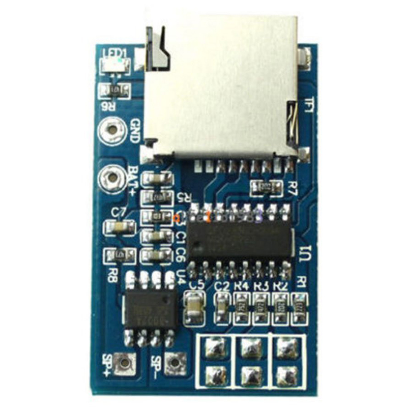 TOP 5PCS GPD2846A TF Card MP3 Decoder Board 2W Amplifier Module