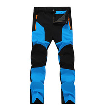 HOT2017 Outdoor Summer Sport climbing camping trekking Cargo Military Stretch breathable Quick-drying splicing hiking pants men
