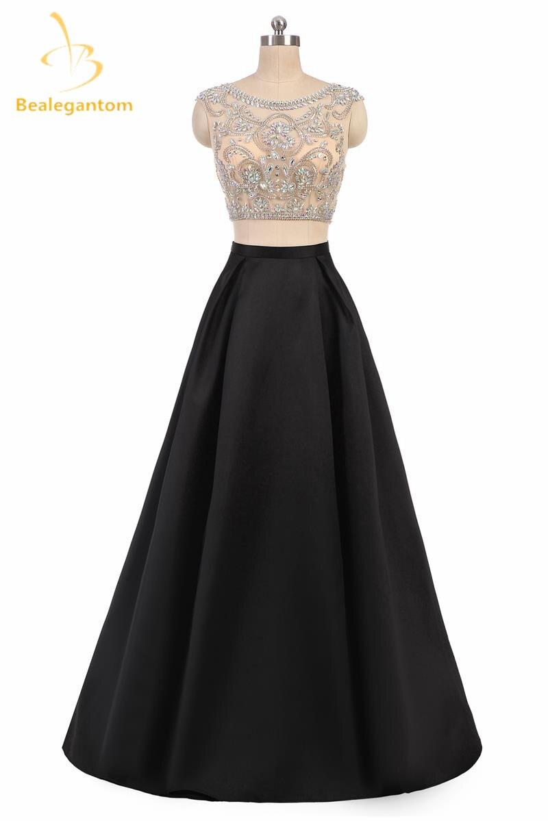 Bealegantom A-Line Purple Lilac Gradient   Prom     Dresses   2019 With Chiffon Plus Size Evening Party Gowns Vestido Longo QA1093