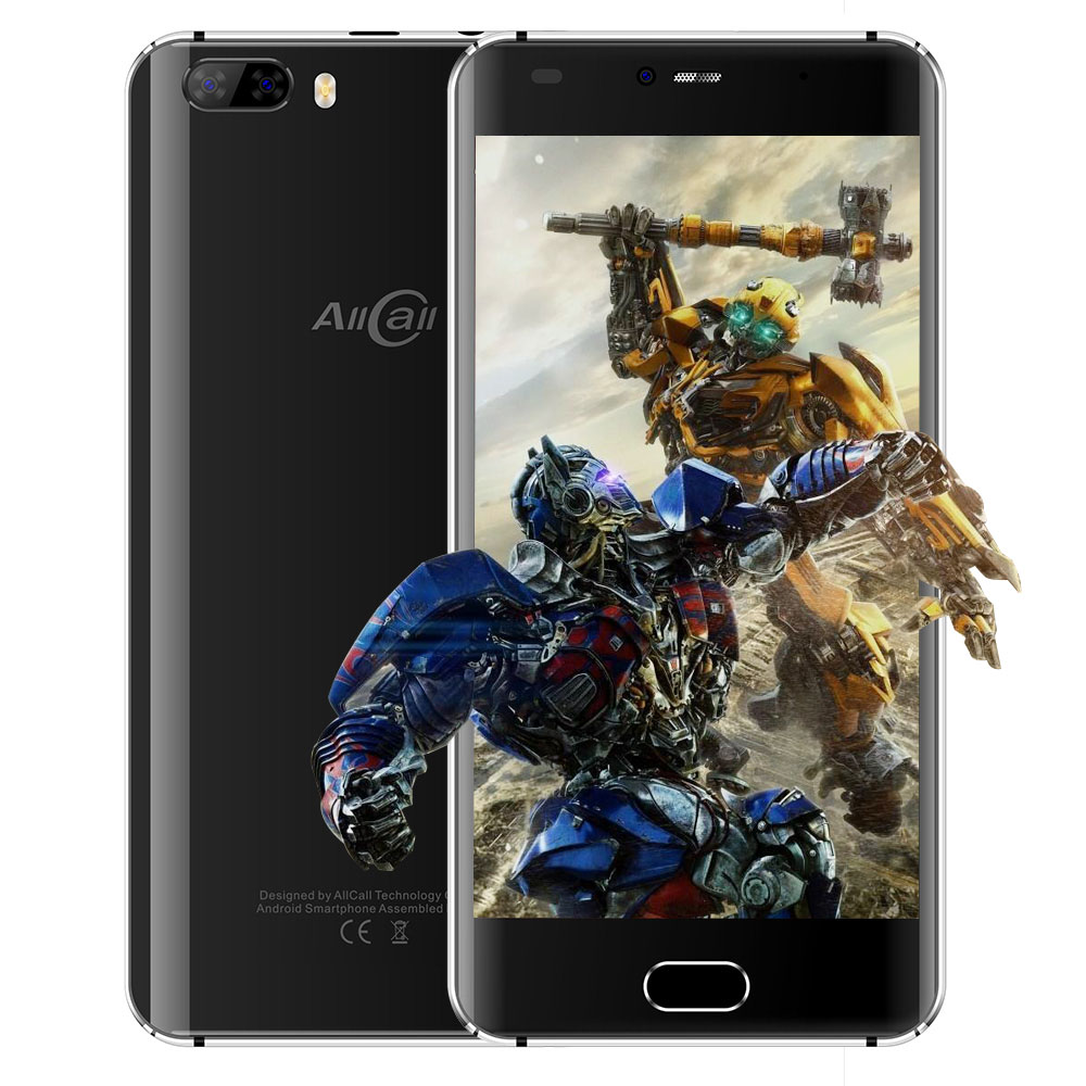 Original Allcall Rio 5 0 3D Curved Screen 3G Smartphone Dual Rear Cams Android 7 0