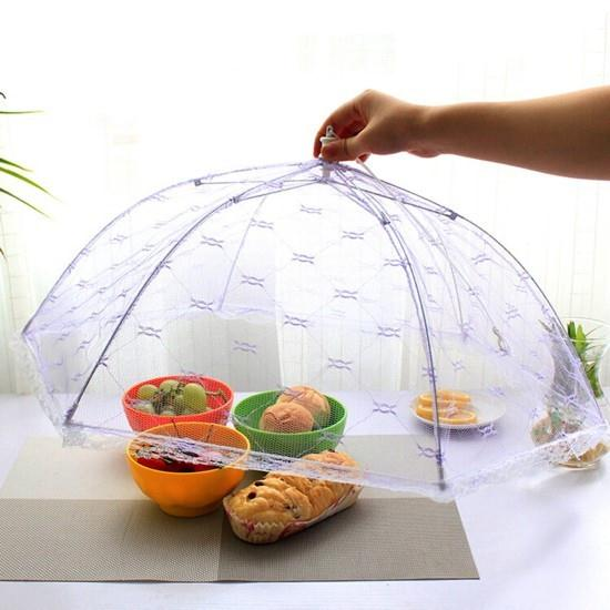 Vogue Lace Mesh Screen Protect Food Cover Collapsible Umbrella Tents Dome Fly Picnic Large Flying Umbrella  sc 1 st  AliExpress.com & Vogue Lace Mesh Screen Protect Food Cover Collapsible Umbrella ...