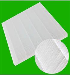 DIY белый складчатый фильтр Экран Воздухоочистители фильтр для Универсальный для фильтрации PM2.5 и дымка для Тематические товары про