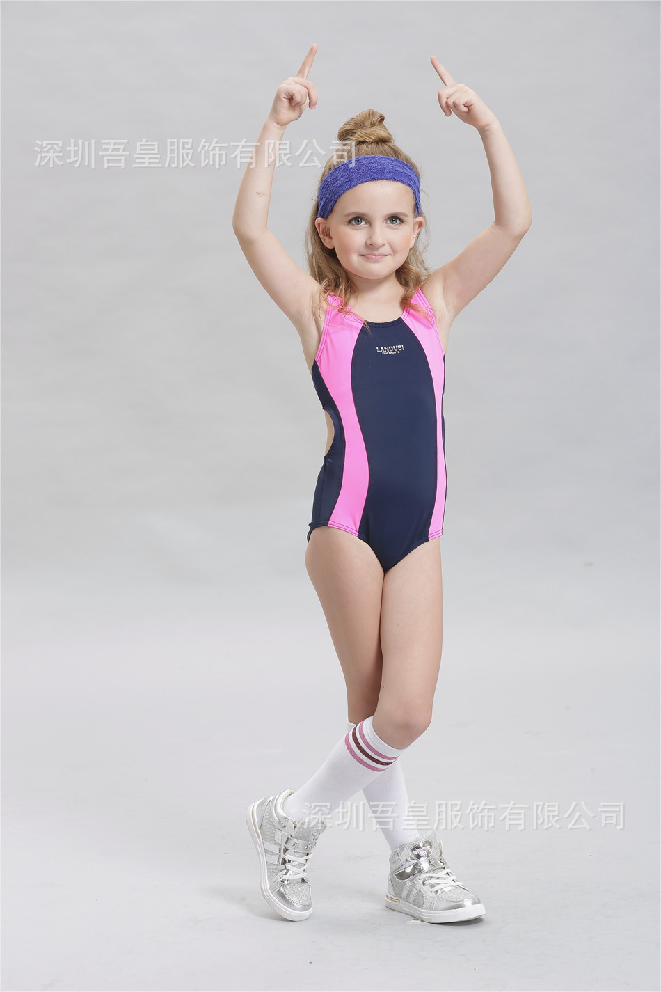 Good Quality Top Bikini 2016 Swimsuit One Piece Swimwear Girls Children Bathing Suit Kids Swimming Suit