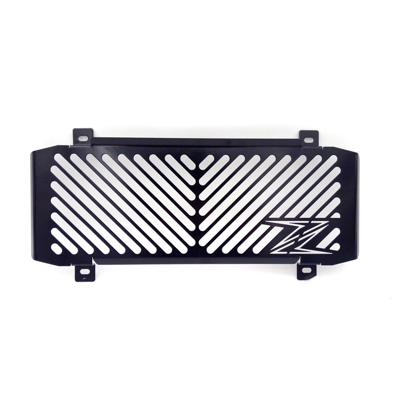 Black Motorcycle Accessories Radiator Grille Guard Cover Protective For Kawasaki Z650 2016-2017 arashi motorcycle radiator grille protective cover grill guard protector for 2008 2009 2010 2011 honda cbr1000rr cbr 1000 rr