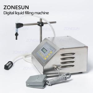 Image 5 - ZONESUN GFK 160 Digital Control Pump Flüssige Füll Maschine Mini Tragbare Elektrische Parfüm Wasser Trinken milch Flaschen Füllstoff