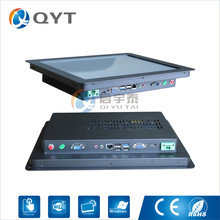 """15"""" intel core i3 industrial embedded pc 2RS232/4USB/WIFI all in one PC Resistive touch Resolution 1024×768 2GB RAM 32G SSD"""