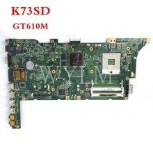 ФОТО free shipping original laptop motherboard k73sd for k73sj main board rev 2.4 n13m-ge5-b-a1 100% tested working