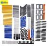 New 280pcs Model Building Blocks Toy Boy Parts Technic Building Bricks Children Toys Compatible Accessories Studless