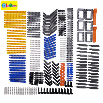 Nouveau 280 pcs modèle blocs de construction jouet garçon pièces technique de construction briques enfants jouets compatible accessoires sans clous poutres frams