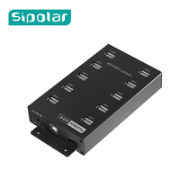 Sipolar 10 port USB HUB Great for Green Bitcoin Miner or any Bitcoin Mining