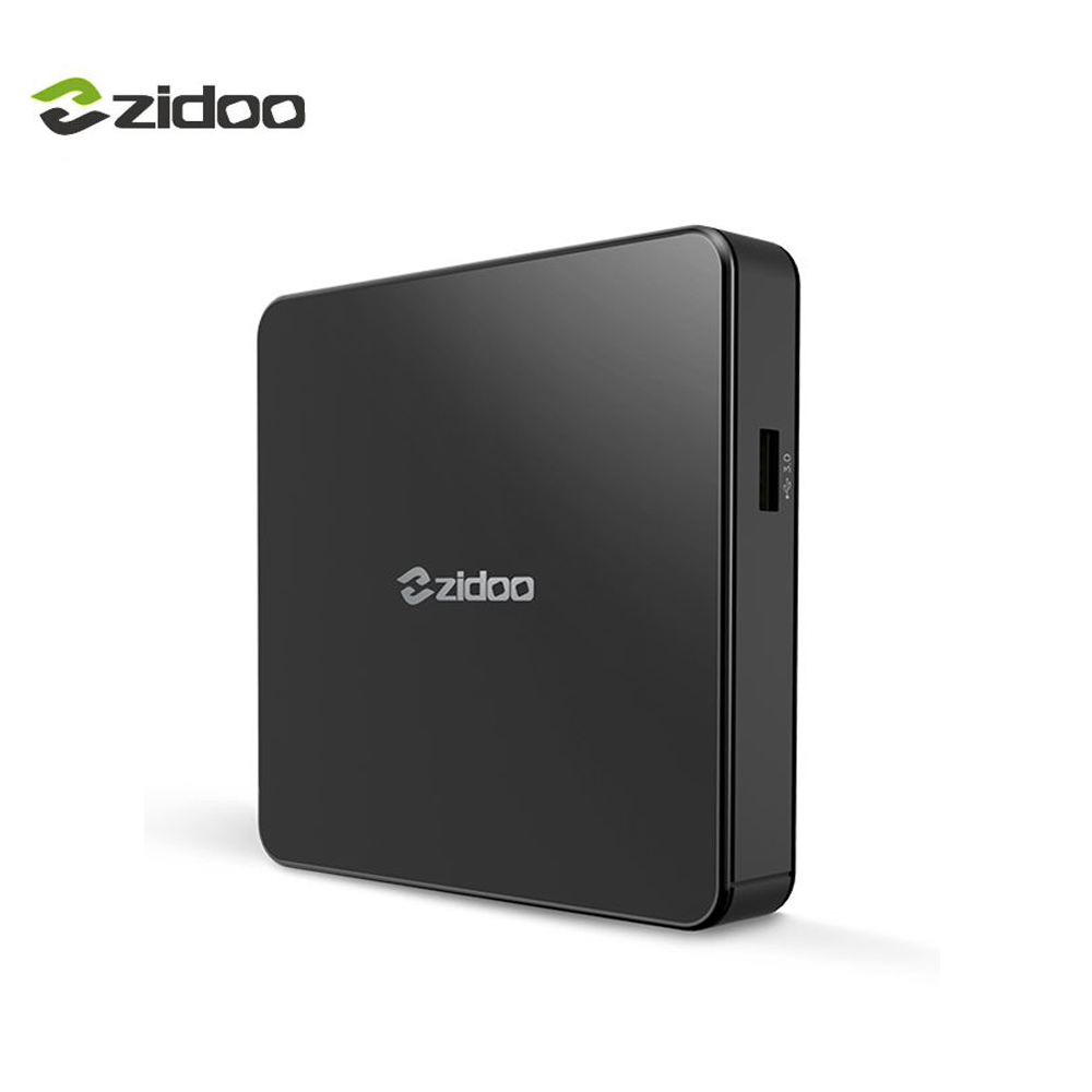 Zidoo X7 4 К Android 7.1 ТВ коробка Bluetooth4.1 4 К * 60fps Smart Телевизионные приставки IP ТВ media player Quad -core 2 ГБ DDR3 + 8 ГБ EMMC WI-FI HDMI