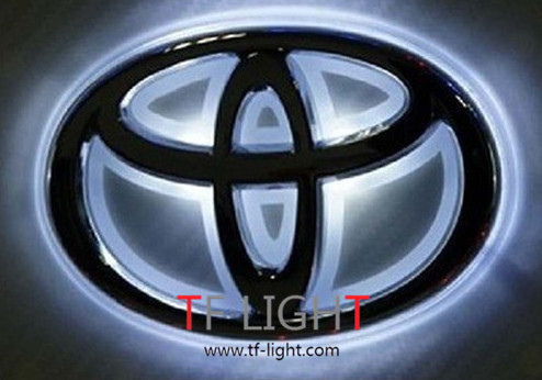 Car Logo Emblem Light For Toyota Corolla Mark Camry Rav4 Yaris Hilux