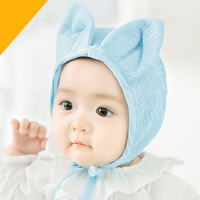 2017 New Arrival Baby 6 12 Months Baby Boy Girl Rabbit Ears Hat Cute Baby Cap