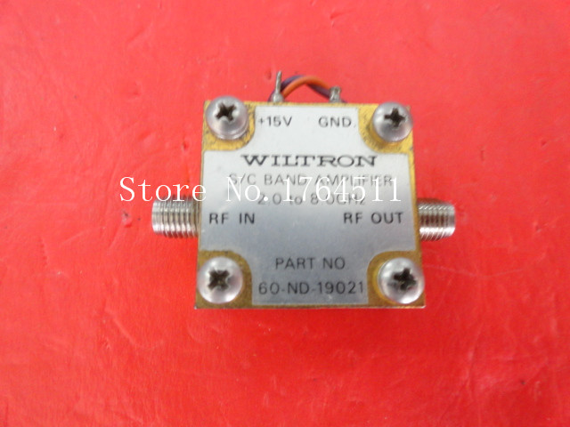 [BELLA] WILTRON 60-ND-19021 2-8GHz 15V SMA Supply Amplifier