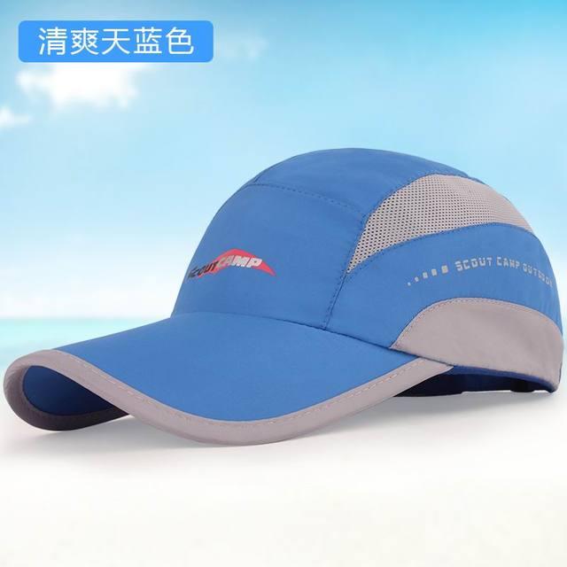 Chapéu masculino boné de beisebol verão cap chapelaria cap-secagem rápida ao ar livre protetor solar chapéu de sol amantes unissex moda casual malha sunhat