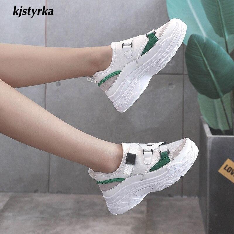 2019 Kjstyrka Blanc slip Vulcaniser Coins Nouvelle Sneakers Classique Couleur Chaussures Mode Femmes Mixte Anti Boucle Femme kaki Respirant Pour Femelle rrqUwdR