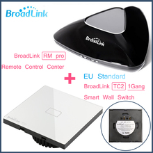 Broadlink RM PRO+1Gang TC2,Common Clever WIFI+IR+RF Management+ON/OFF Contact distant Wall Mild Swap,Sensible Dwelling Automation
