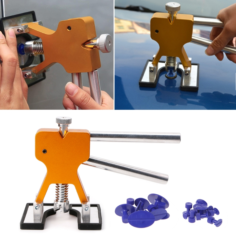 High Quality Auto Car Body Paintless Dent Lifter Repair Tool Puller + 18 Tabs Hail Removal Tool