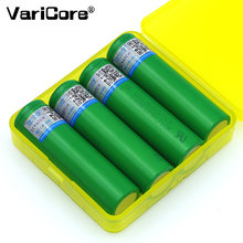 VariCore – batterie Li-ion VTC6 3.7V 3000 mAh 18650, décharge 30a pour batteries Sony 18650 + boîte de rangement de batteries, 4 pièces