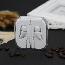 Earphone In-Ear Headset Headphone With Microphone For iPhone 4s 5s 6s Plus Xiaomi Samsung HTC Sony MP3 MP4 Earphones