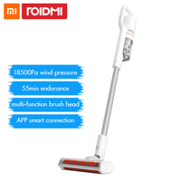Roidmi F8 Handheld Wireless Vacuum Cleaner for Home Carpet Dust Collector Cyclone Bluetooth LED Multifunctional Brush Xiaomi