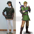 Anime The Legend of Zelda Zelda Link Cosplay Costume Fighting Uniform Full Set Customized Size