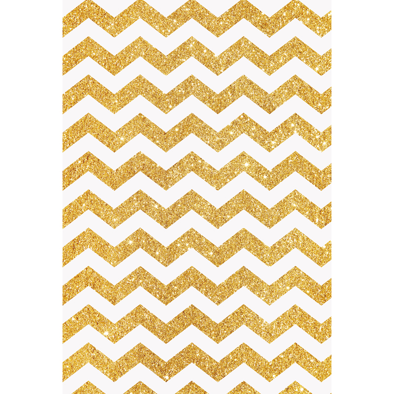 Customize washable wrinkle free golden chevron pattern photography backdrops for kids photo studio portrait backgrounds F-1621 missoni for target travel tote colore chevron pattern