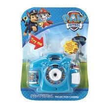 PAW PATROL Детский мультфильм 8 Проекционные детские игрушки камера ребенок подарок для ребенка камера для детей проектор в виде героев мультфильмов