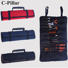 1 PC Tools Bag Plier Screwdriver Pocket Roll Bag/Case/Pouch Holder Oxford Tool Roll Bag Red Blue Black 3 Colors available