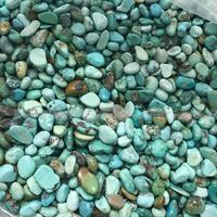 100g Natural Turquoise Green SMALL Gravel Bulk Tumbled Stones Crystal Healing Natural Stones And Minerals