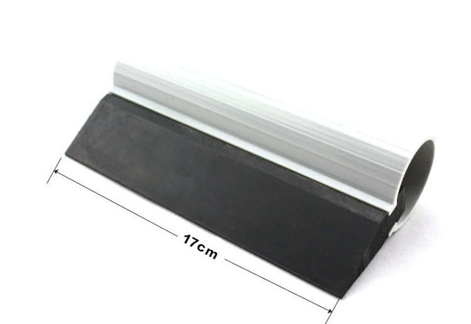 17cm Turbo Squeegee BLACK Rubber Side Blade Scraper Water Wiper Window Tint Cleaning MO 147-in Car Stickers from Automobiles & Motorcycles