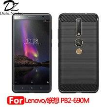 Фотография For Lenovo Phab2 Pro PB2-690M PB2-690N PB2-690Y Luxury Case  360 Environmental Luxury Back Cover TPU Ultra-thin Phone Coque Case