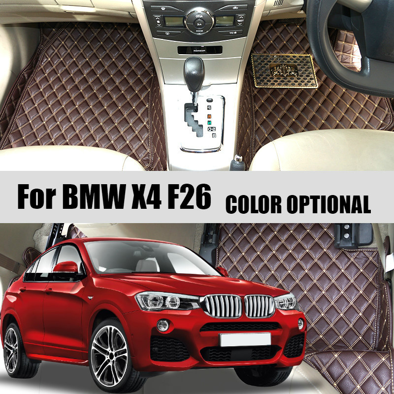 Custom Car floor mats carpet for BMW X4 F26 2014-2016 / X6 E71 2008-2014 / X6 F16 2015-2016 Auto accessories Car styling