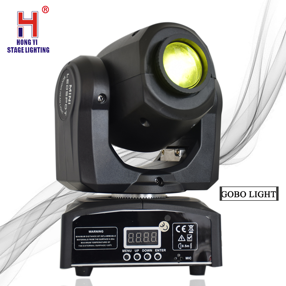 LED Moving Head Spot Lighting 10W Gobo Light Effect DJ Lighting For EventLED Moving Head Spot Lighting 10W Gobo Light Effect DJ Lighting For Event