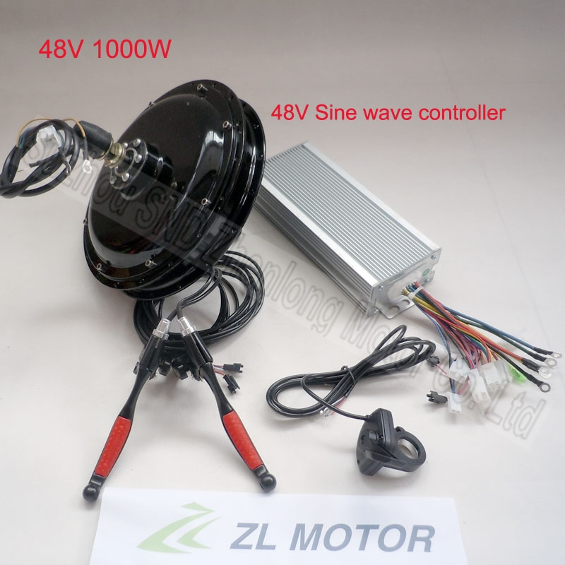 Customized electric bicycle spoke brushless hub motor 1000w 48V conversion kit/e-bike modify kits G-S006 - Suzhou SND Zhenlong Motor Co. Ltd store