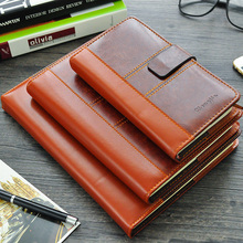 цена Cheng Jia Brand 2017 Luxury Notebook a5 A6 B5 Business Office Notepad Travelers notebook Pu leather cover Notebooks and Journals онлайн в 2017 году