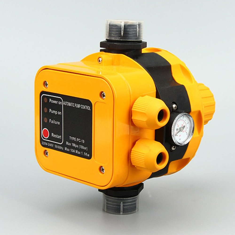 Water Pump Booster Pump Electronic Water Flow Pressure Controller Water Pump Automatic Controller Pressure Electronic SwitchWater Pump Booster Pump Electronic Water Flow Pressure Controller Water Pump Automatic Controller Pressure Electronic Switch