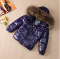 Baby child raccoon fur white duck 90 short design children's clothing 2012 winter down coat quality baby young children