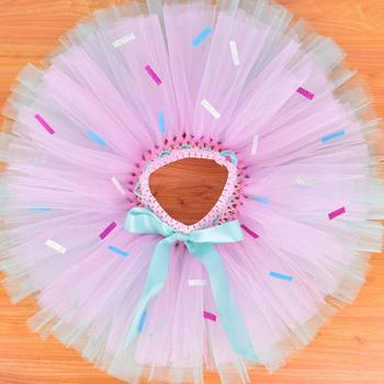 47a57724e Purtulle Arco Iris bebé tutú-Falda Multicolor tutú para niñas-Falda tutú de  tul de ...