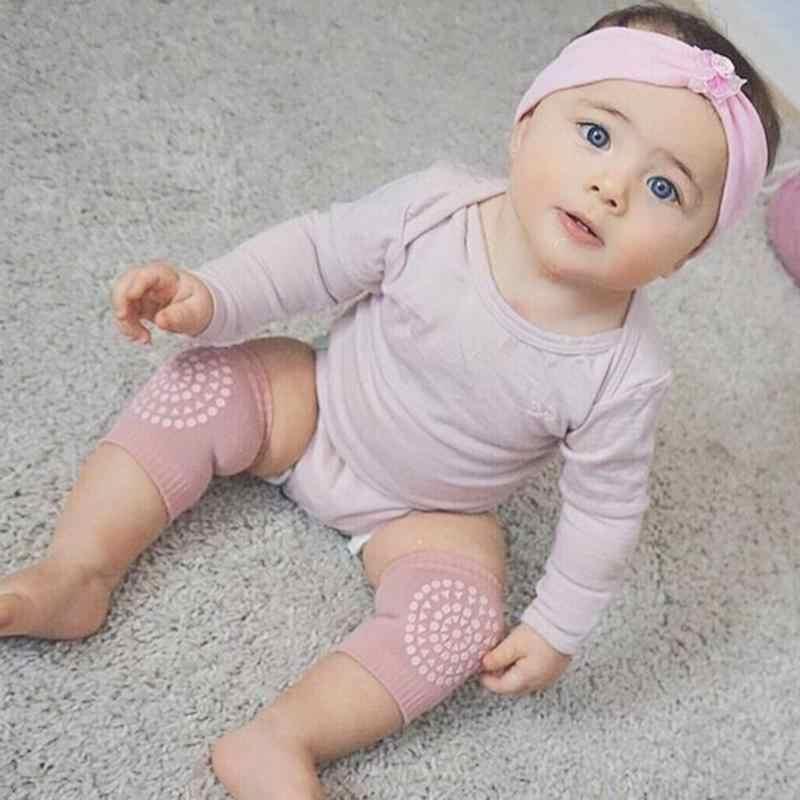 1 paar Neugeborenen Baby Beinlinge Anti Slip Baby Knie Schutz Knie Schutz Baby Krabbeln Knie Pads calentadores pierna