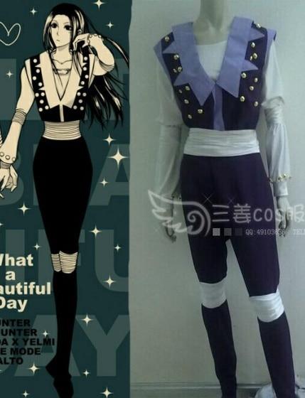 Hunter X Hunter Illumi Zoldyck Irumi Cosplay Costume