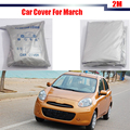Car Cover Outdoor Rain Snow Resistant Sun Shield Protector Cover UV-Anti Dustproof For Nissan March