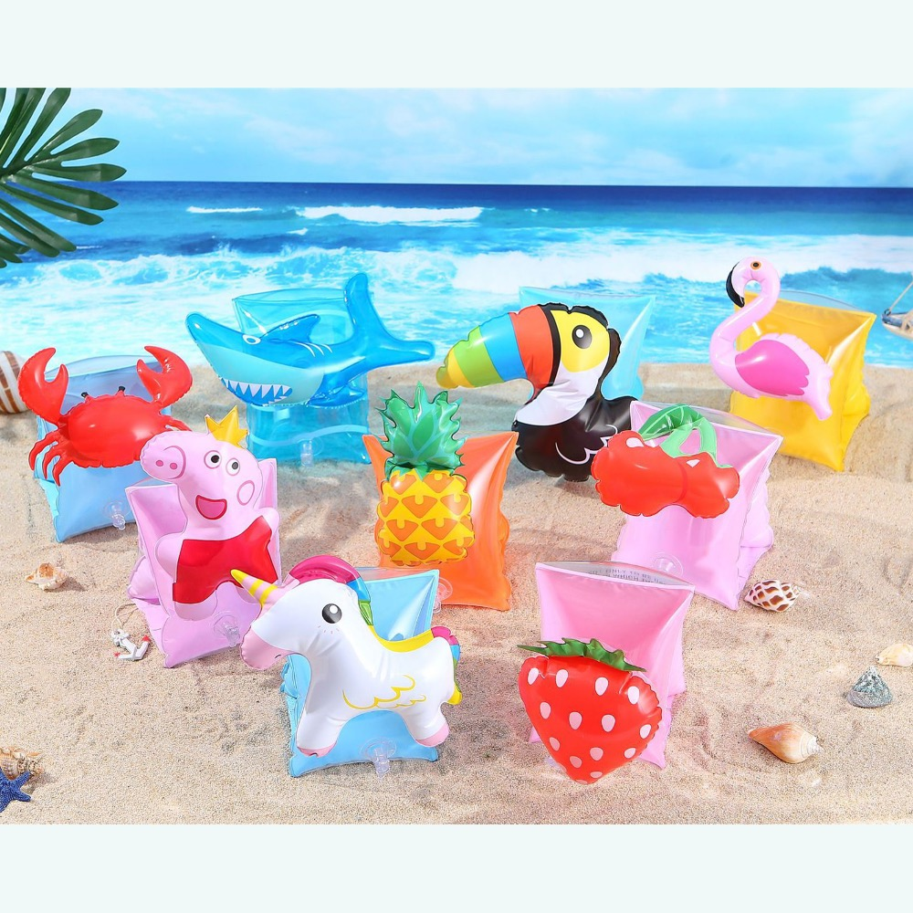 YUYU Swimming Arm Ring Unicorn Flamingo Inflatable Pool Float For 2-7 Years Old Floatation Sleeves Swimming Arm Float Children