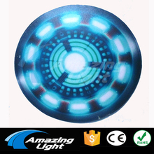 Ironman 4 Sound Active Flash Light El Panel t-shirt panel decoration led flashing panel Free Shipping