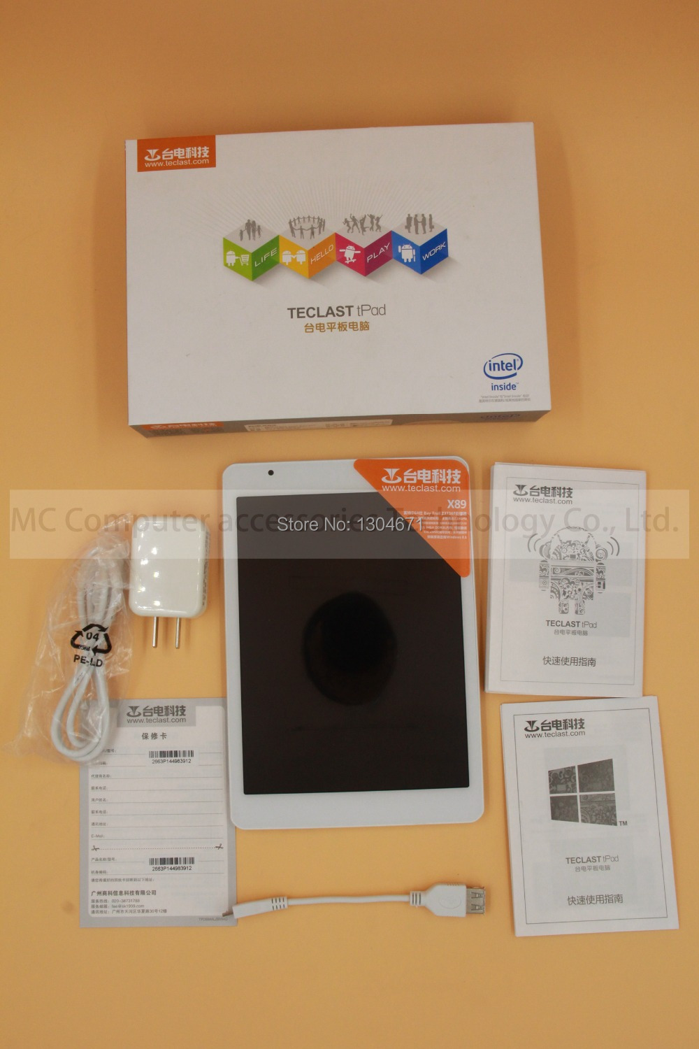 Teclast X89 Original Tablet PC Dual OS Win8 1 or win10 Android 4 4 Intel Quad