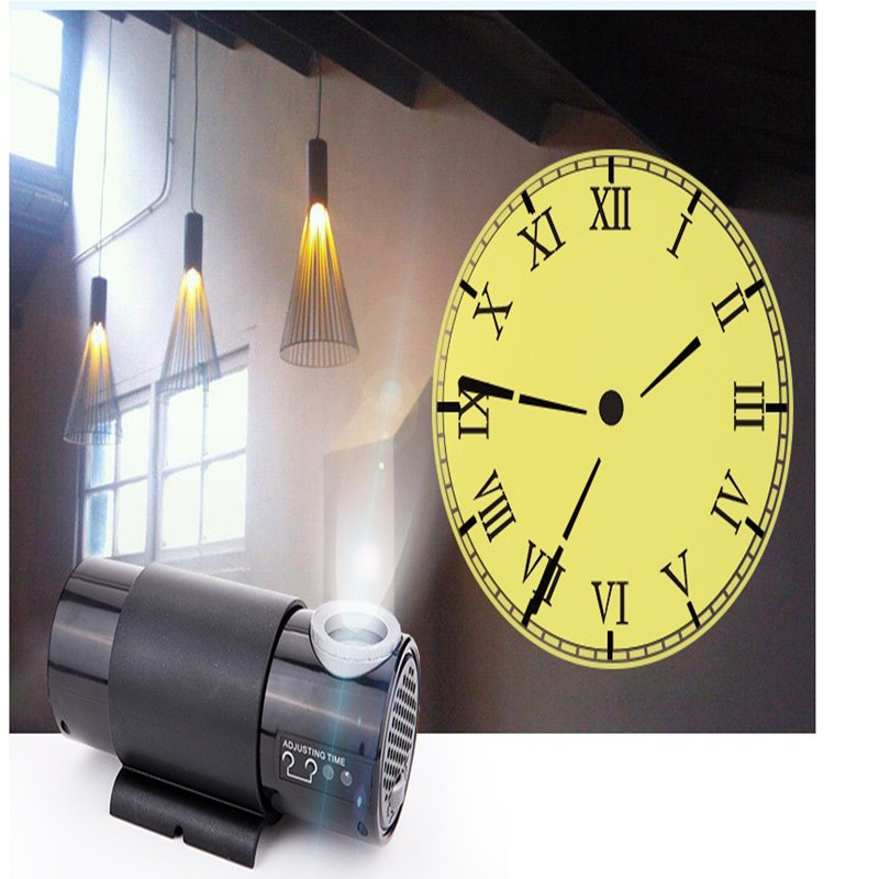 Hot Living Room Wall Clock Electronic Clock Led Projection Clock With Remote Control Subwoofer Projection Clock